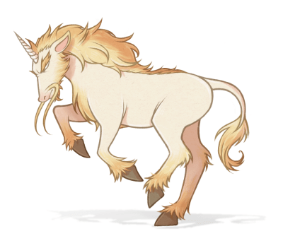 Medieval Fantasy: Mythical Horse