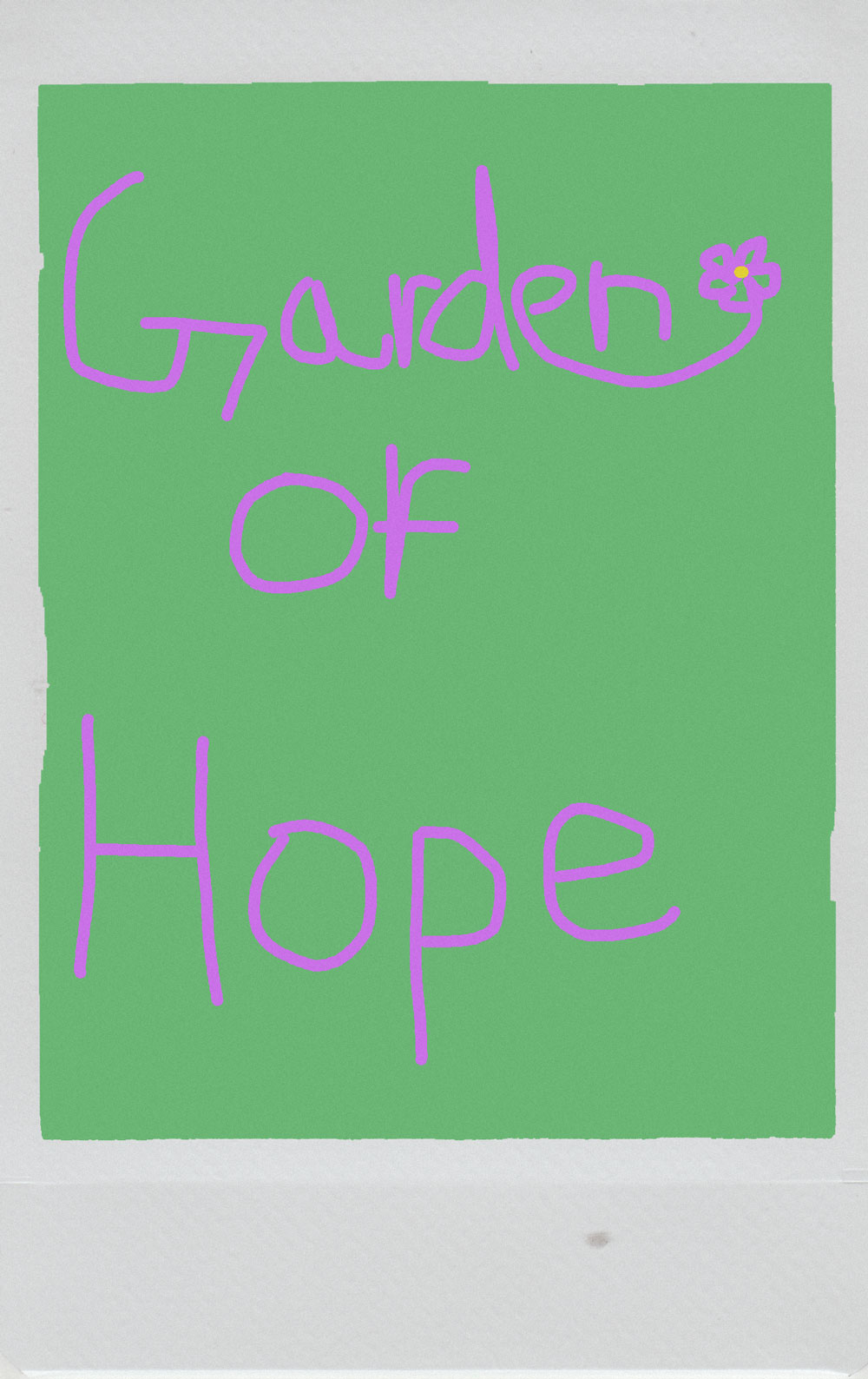 From Thoughts to Poems: A Garden of Hope