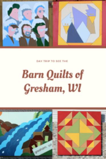 Gresham, Wisconsin - Barn Quilts - Pinterest