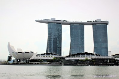 Marina Bay Sands Hotel & River view - Singapore