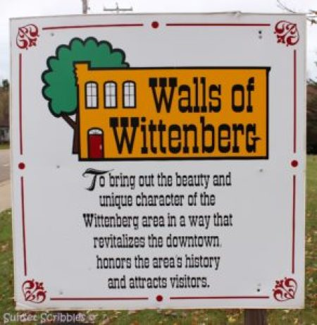 Walls of Wittenberg mural