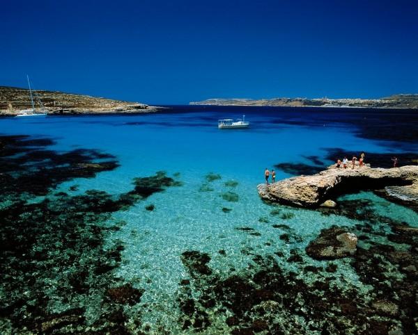 Плаж в Малта