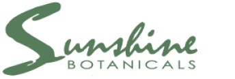 Visit us on the web at www.sunshinebotanicals.com