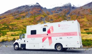 Providence Imaging Mobile Mammography Vehicle