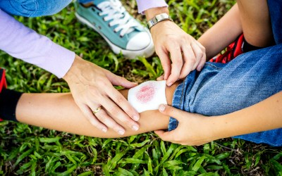The Best Way to Treat Your Kids Cuts and Scrapes