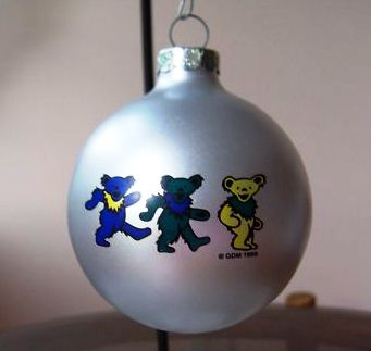 Grateful Dead Dancing Bears Ornaments Sunshine Daydream