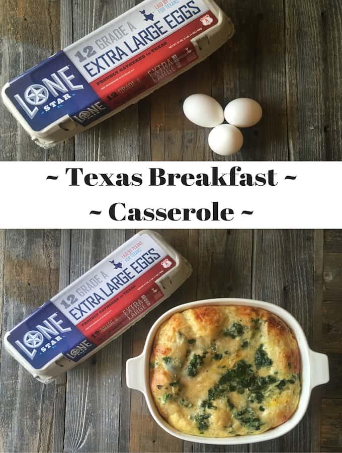 Texas Breakfast Casserole