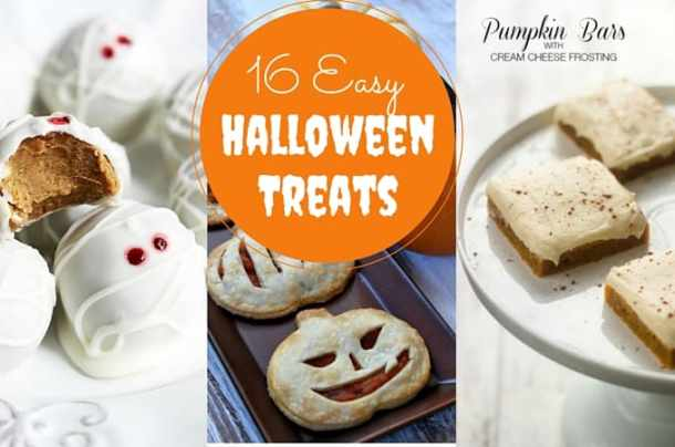 16 Easy Halloween Treats