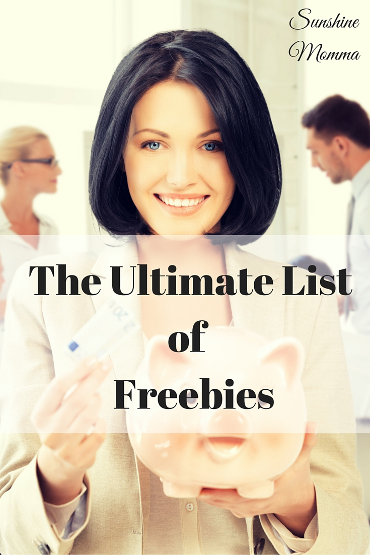 The Ultimate List of Freebies