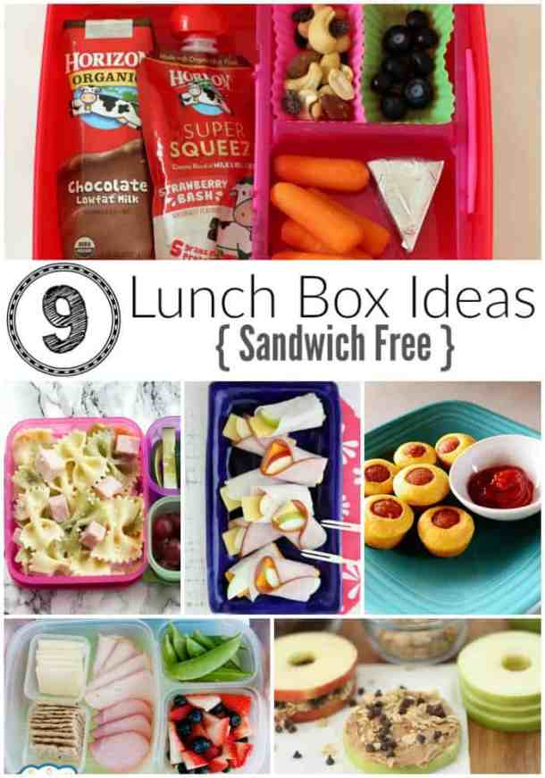 No Sandwich Lunch Ideas