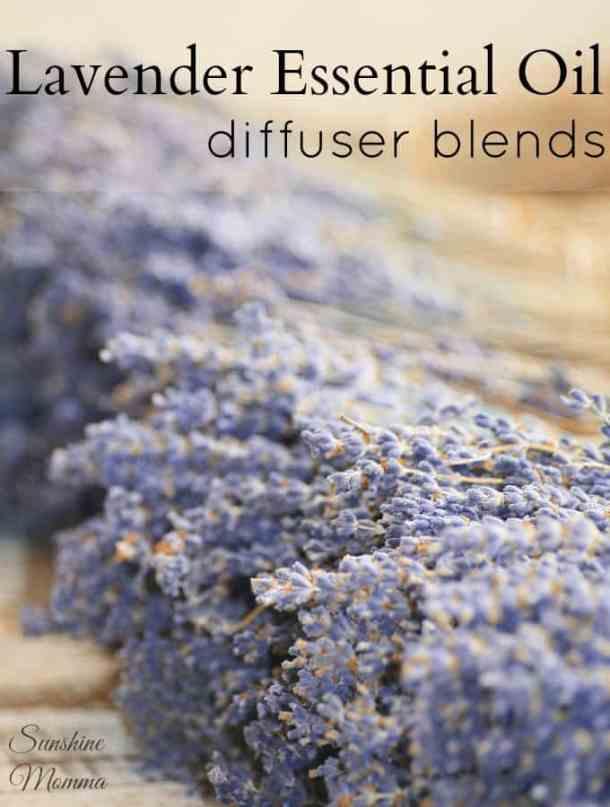Lavender Essential Oil Diffuser Blends