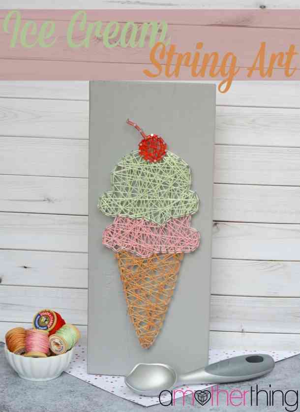 Ice Cream String Art