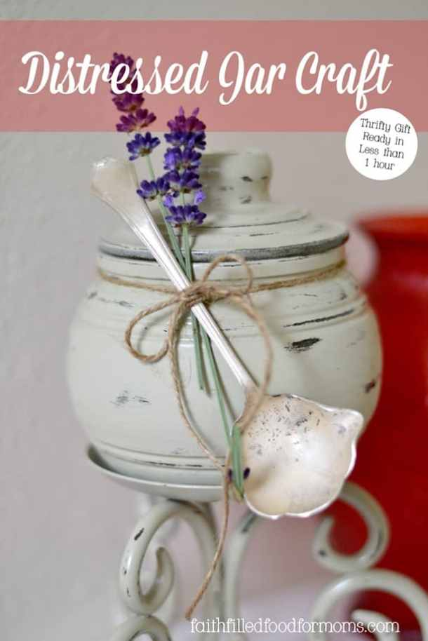 Distressed Jar Craft