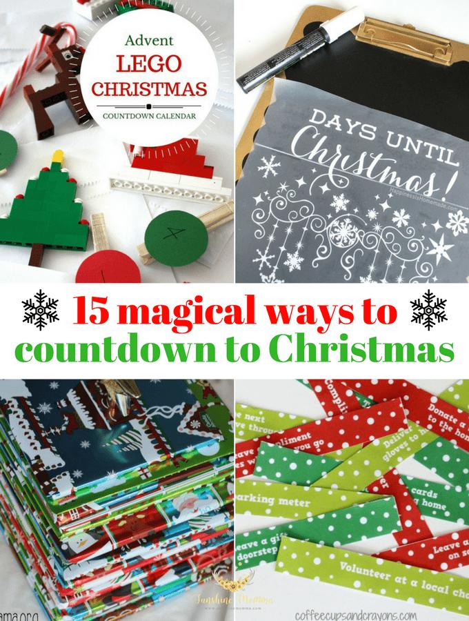 15 magical christmas countdown ideas - Christmas Countdown Ideas