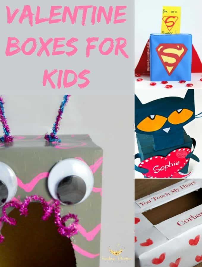 Diy Valentine Boxes For Kids Sunshine Momma