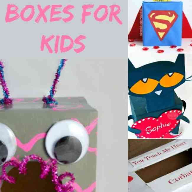 DIY Valentine Boxes for Kids