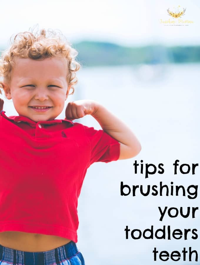 Getting toddlers excited about brushing their teeth