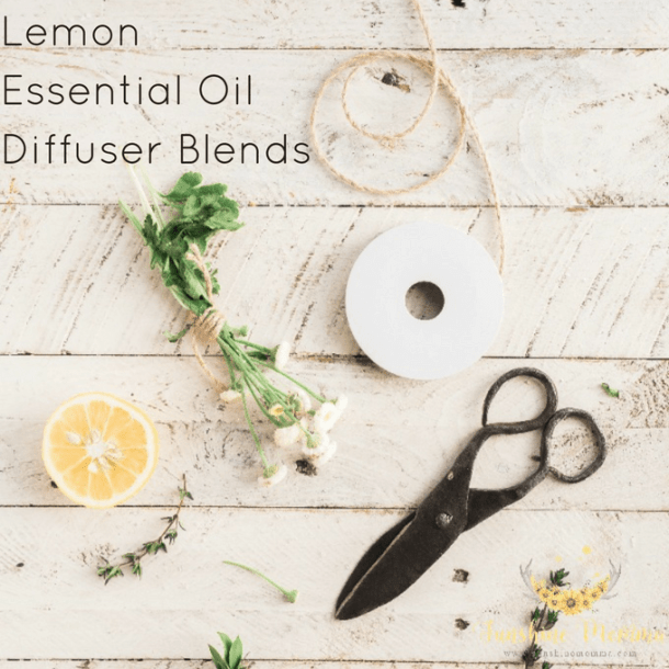 Lemon Essential Oil Diffuser Blends