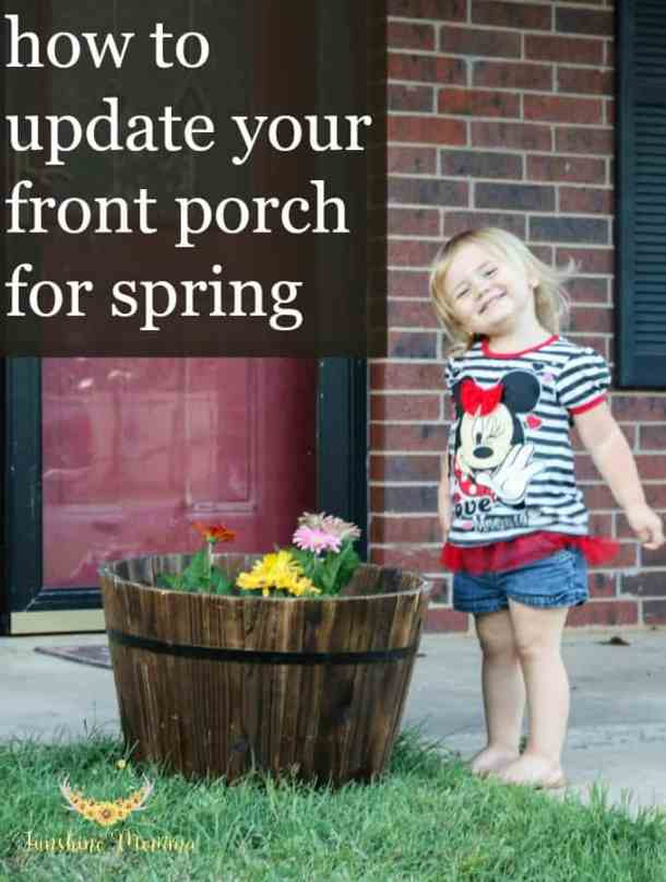 How to Update Your Front Porch for Spring