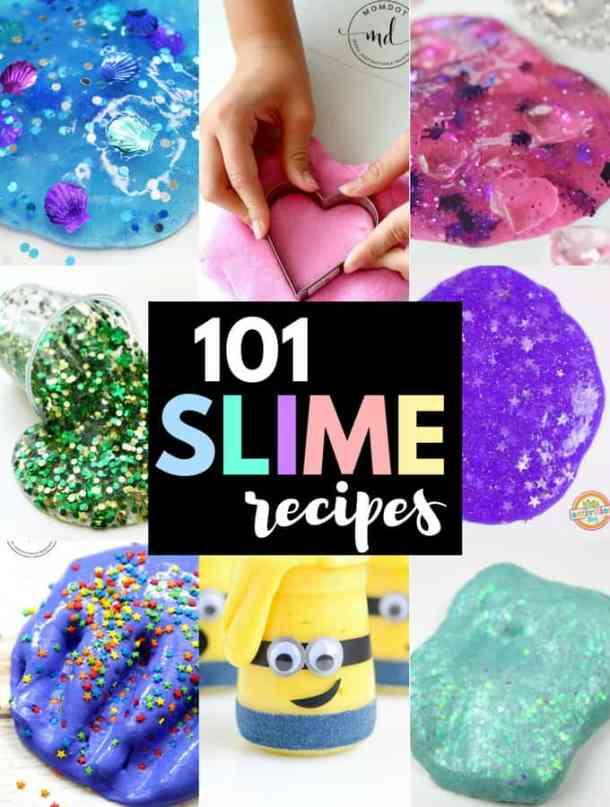 101 Outstanding Homemade Slime Recipes