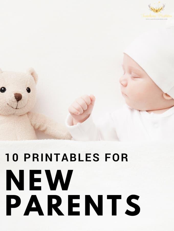 10 Printables Every New Parent Needs