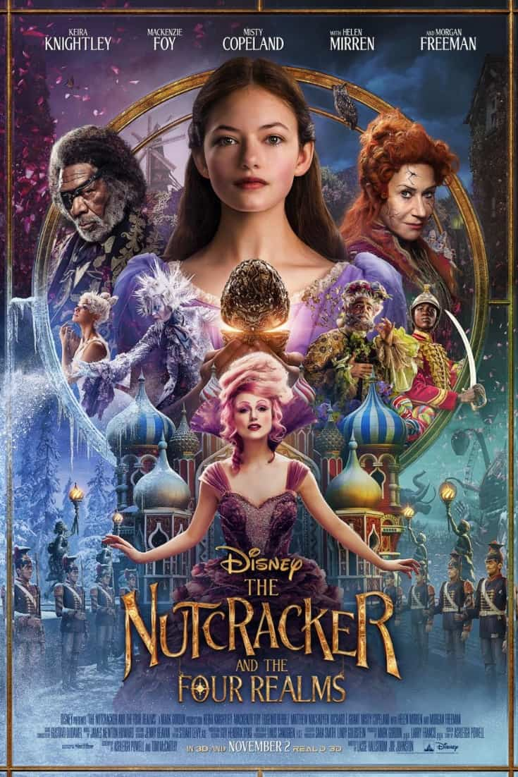 Disney's The Nutcracker and the Four Realms: Coloring Pages & Activity Sheets
