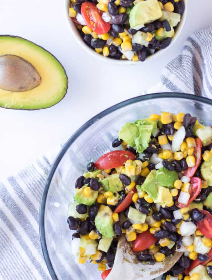 Healthy Black Bean and Corn Salad