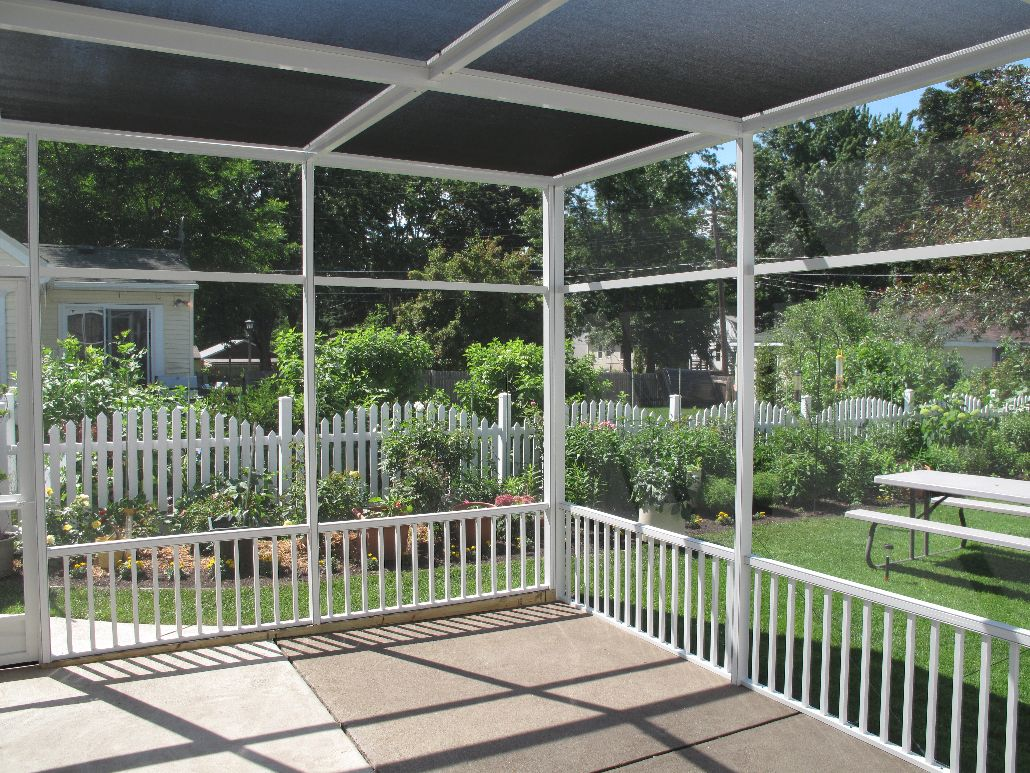 patio and pool enclosure rescreening