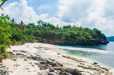 Secret Beach + where to stay on Nusa Ceningan | Sunshine ...