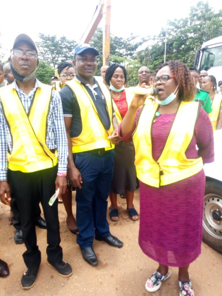 ODSWMA goes tough on Akure Residents over indiscriminate dumping of waste