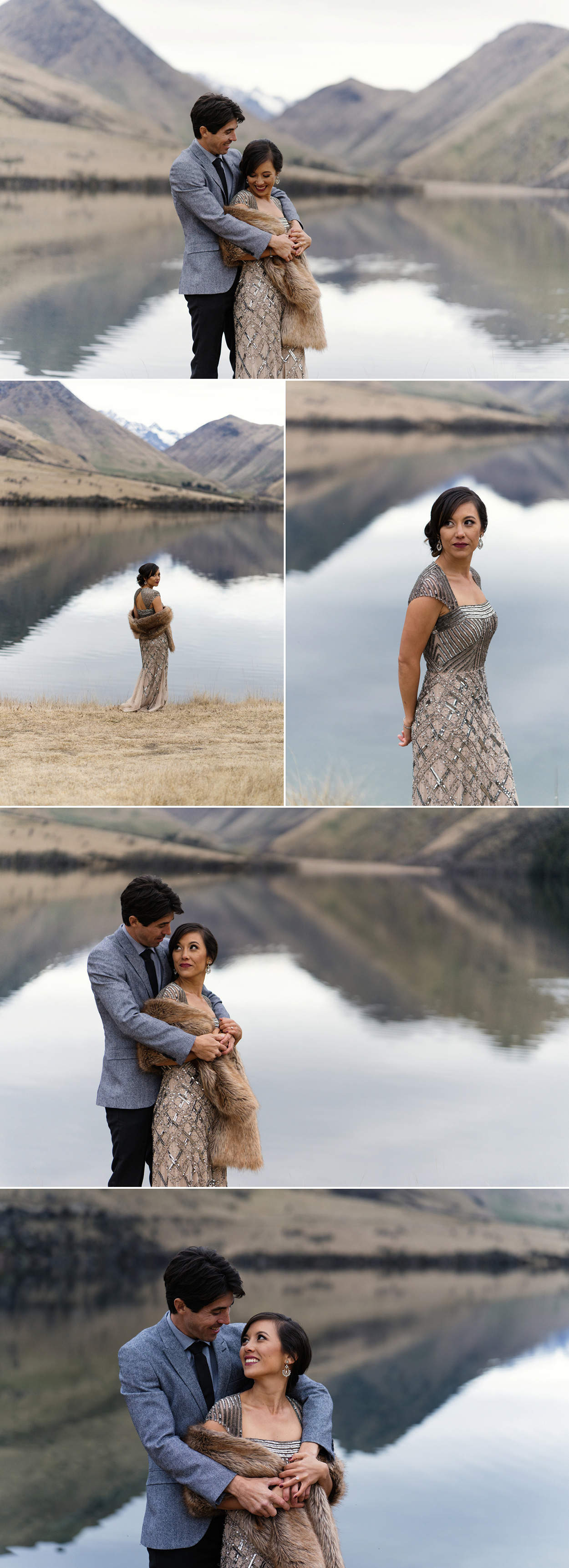 moke lake elopement wedding photographer