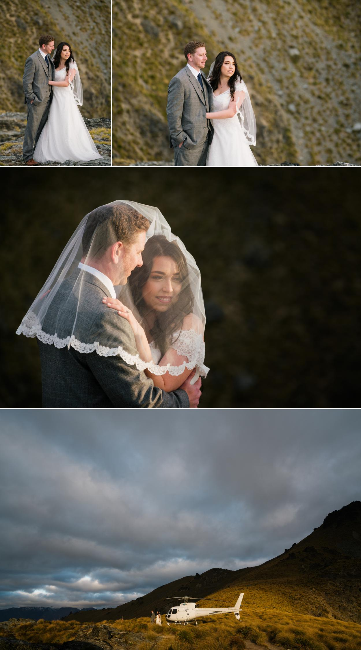 Queenstown mountain weddings by Sunshine Weddings
