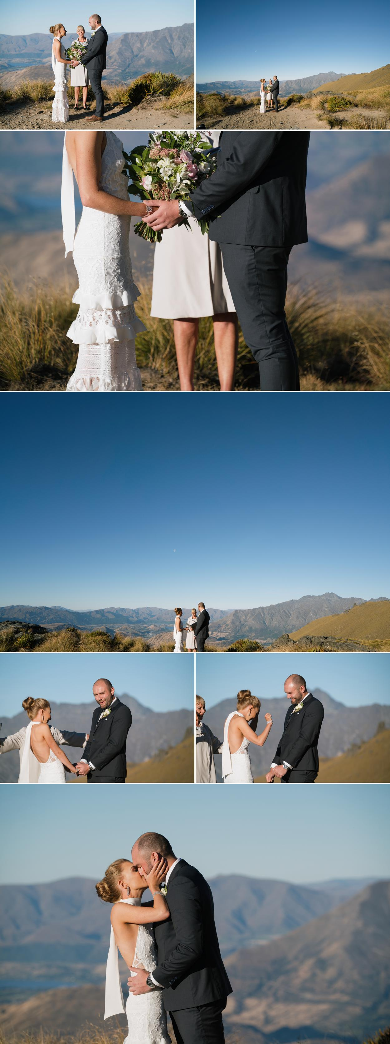 Mountain wedding planner in Queenstown, New Zealand
