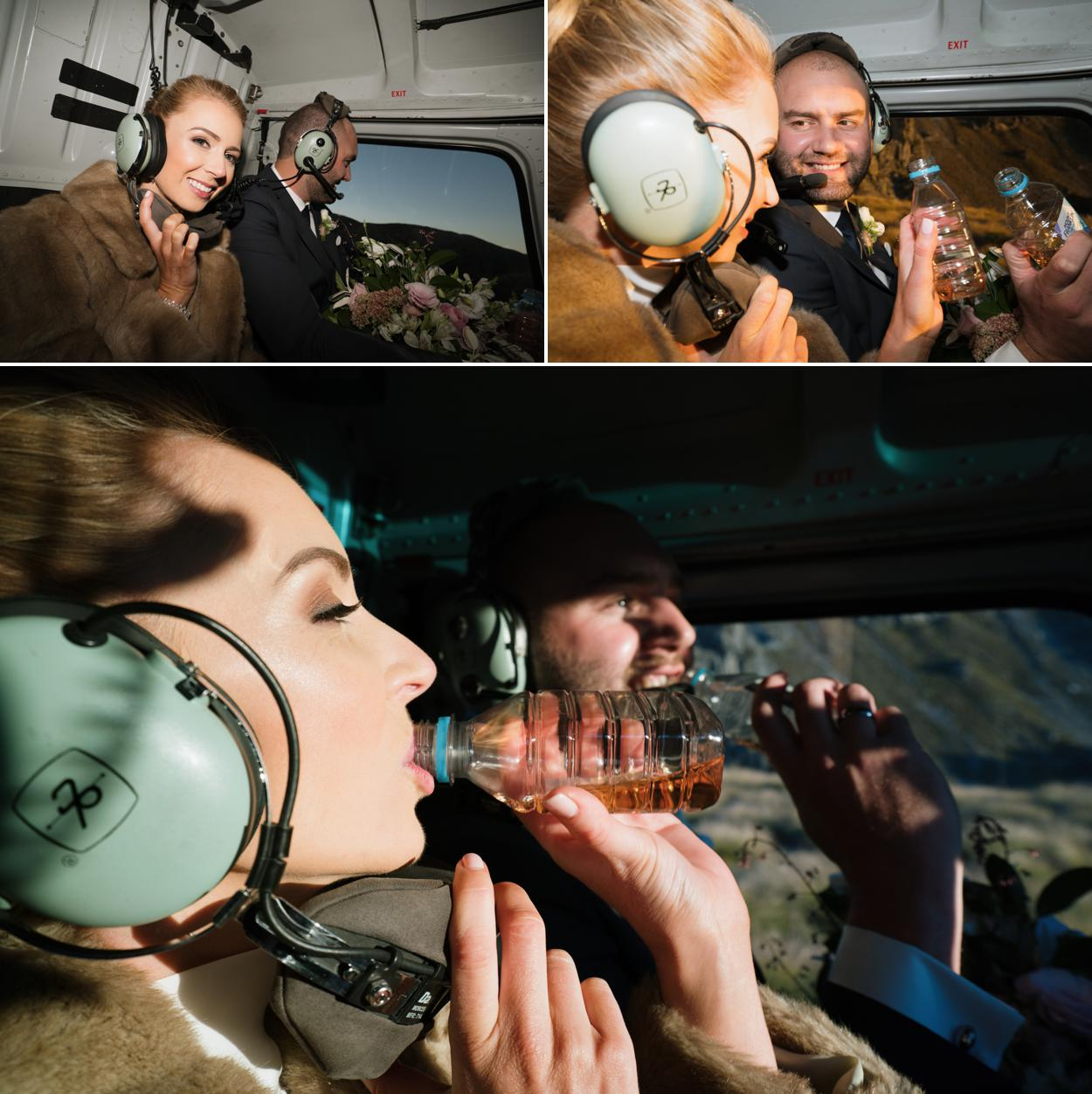 heli weddings new zealand by Sunshine Elopements