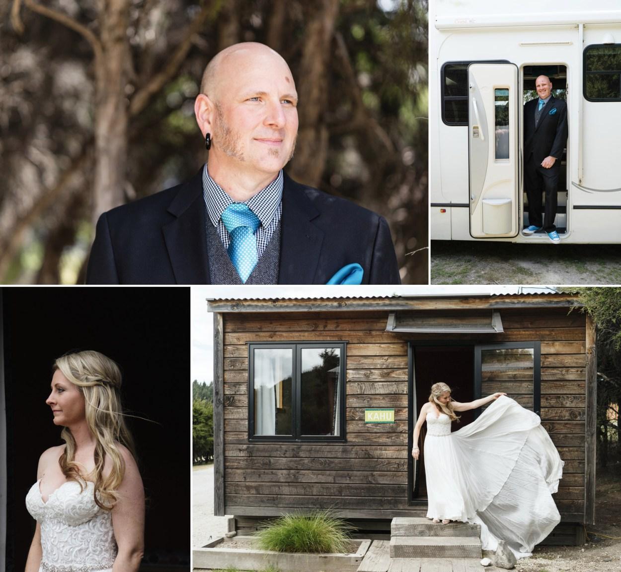 lake wanaka elopement wedding