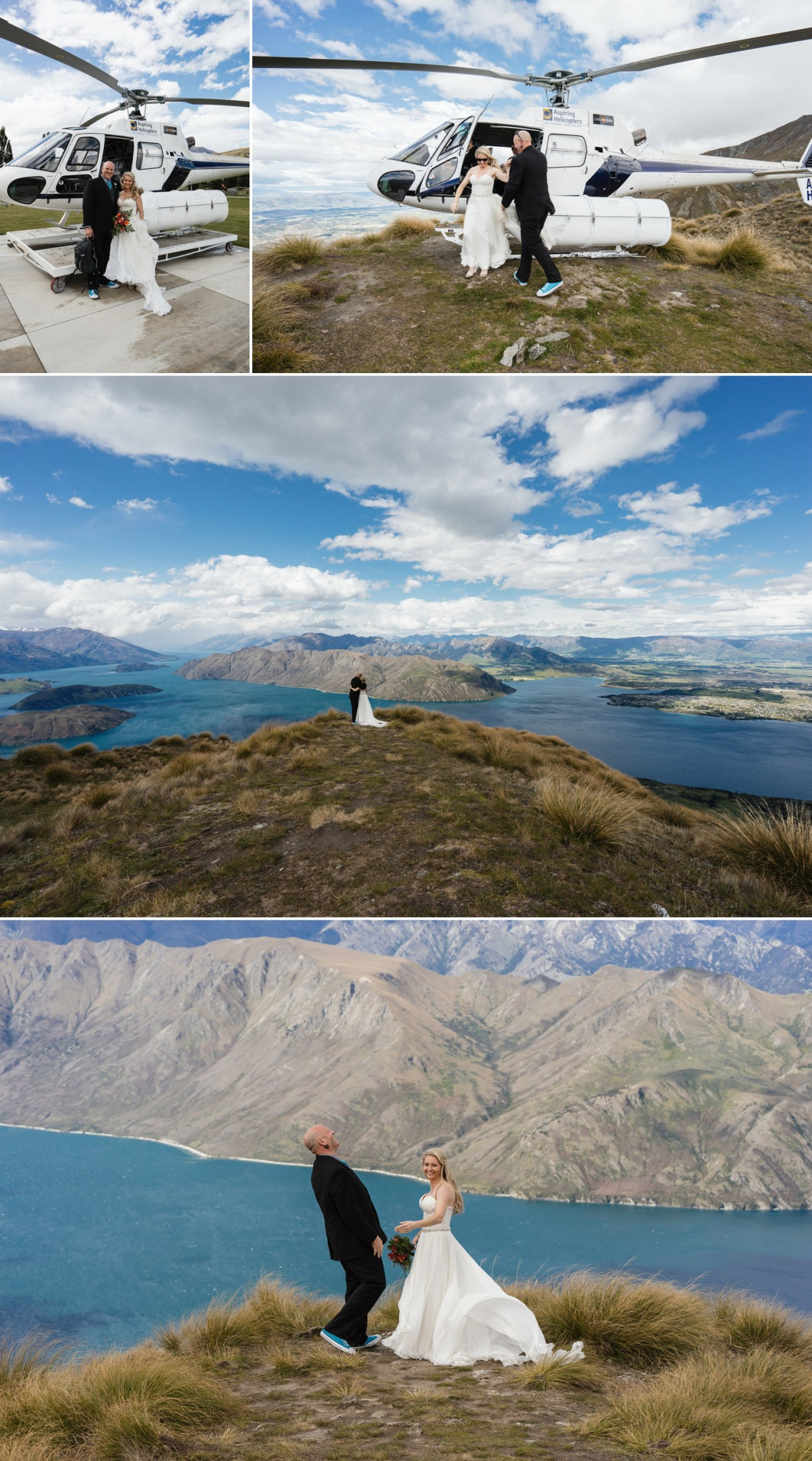 mount roy heli wedding