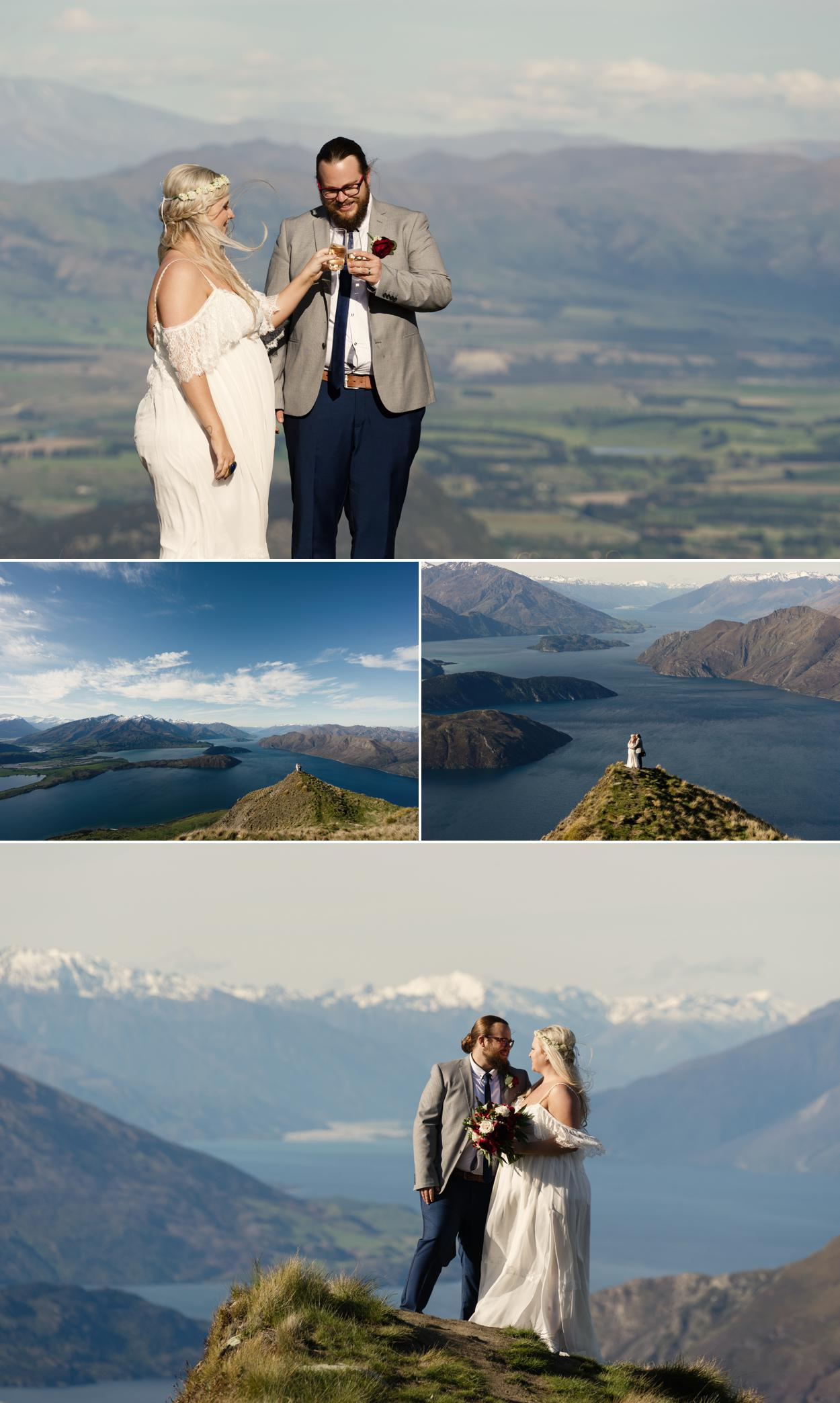 Coromandel Peak wedding photographer