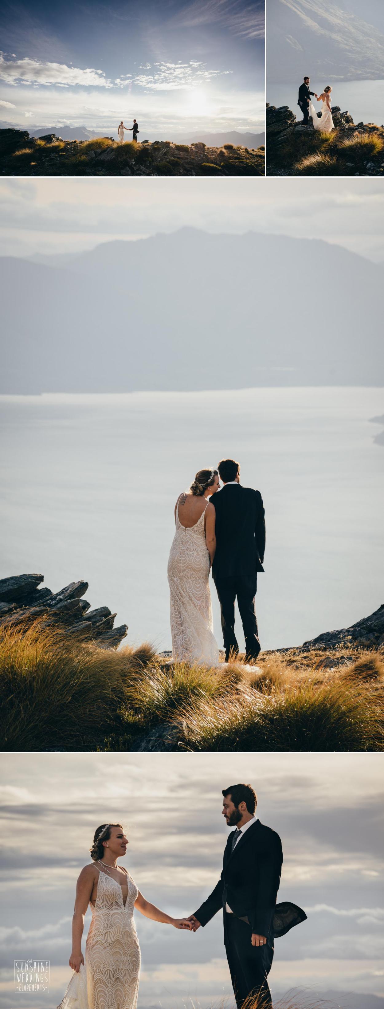 Lake Wakatipu mountain view
