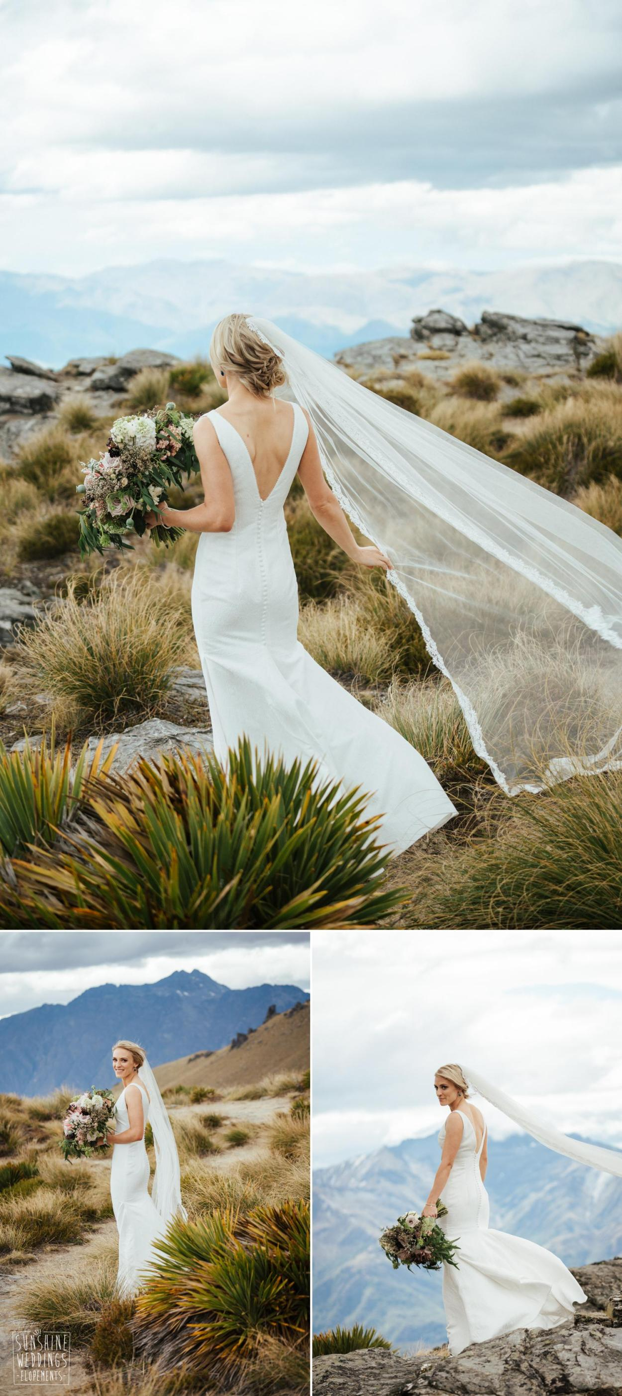 Cecil Peak mountain wedding