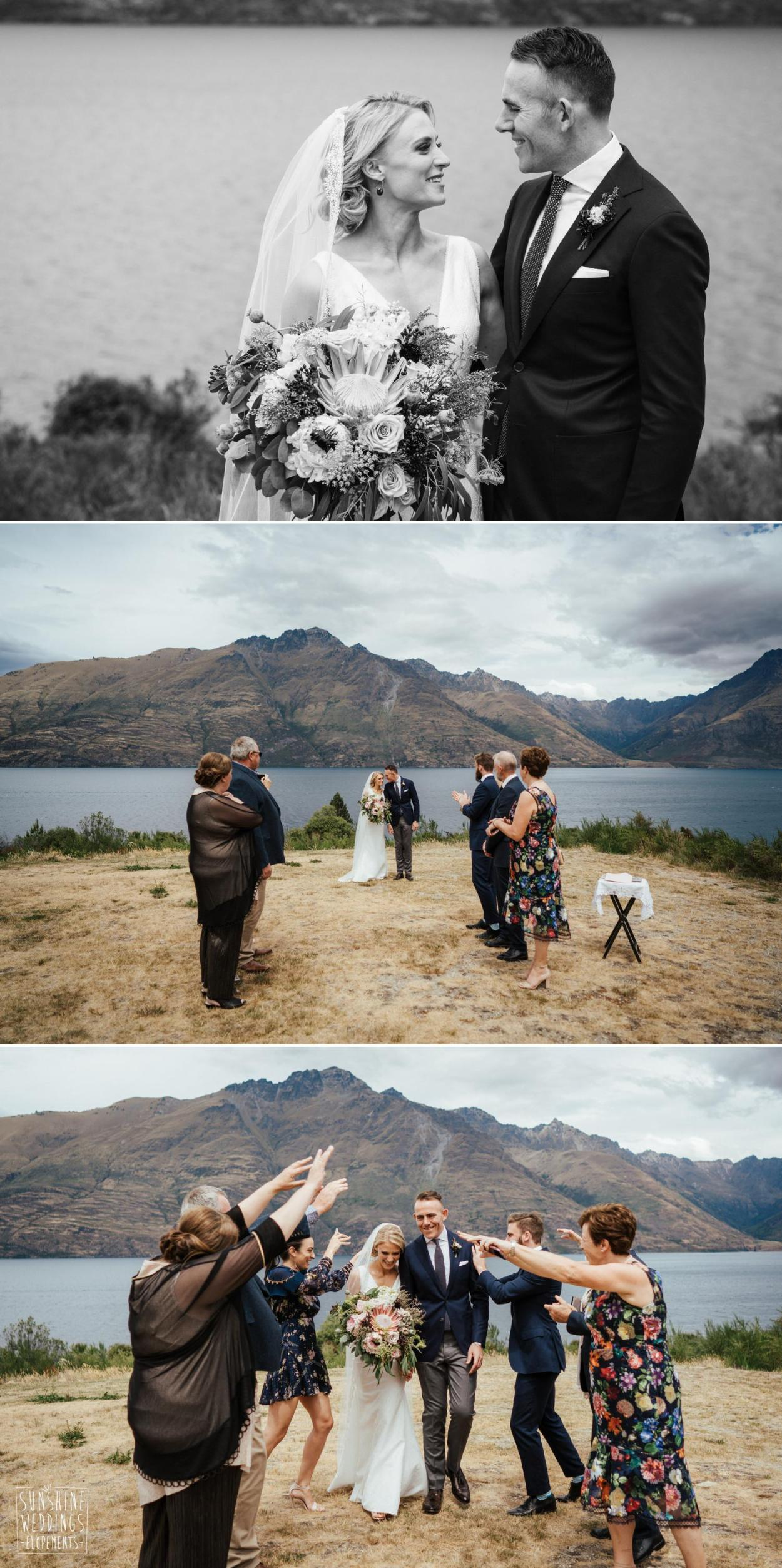 Small wedding Queenstown