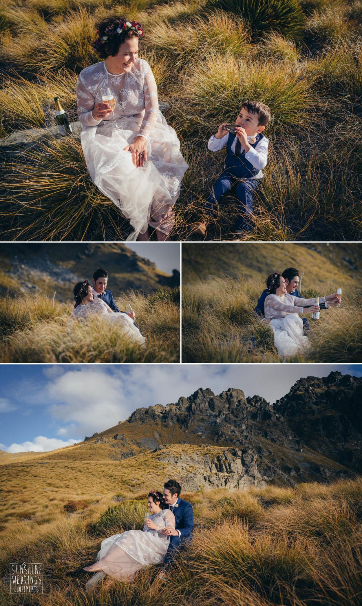 Destination wedding photographer Queenstown