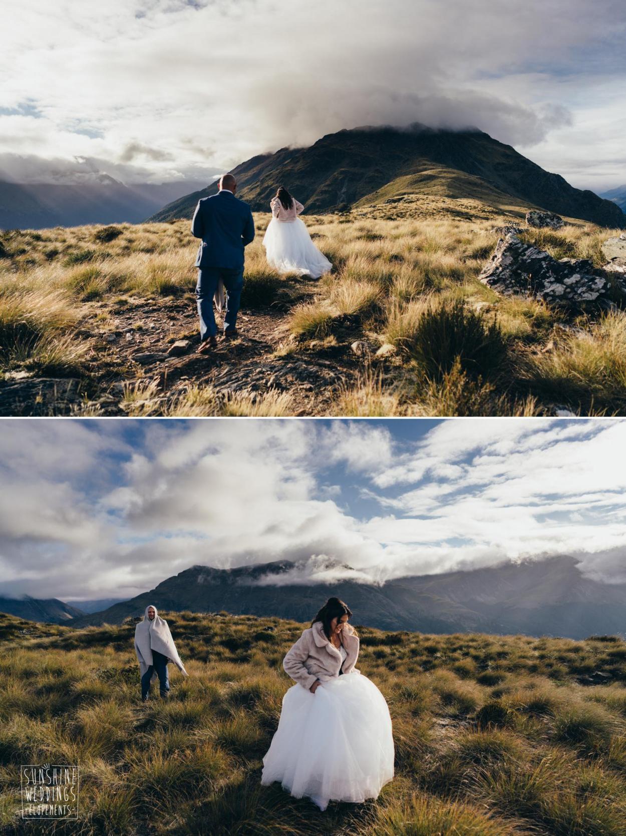 Lower Humboldts mountain wedding