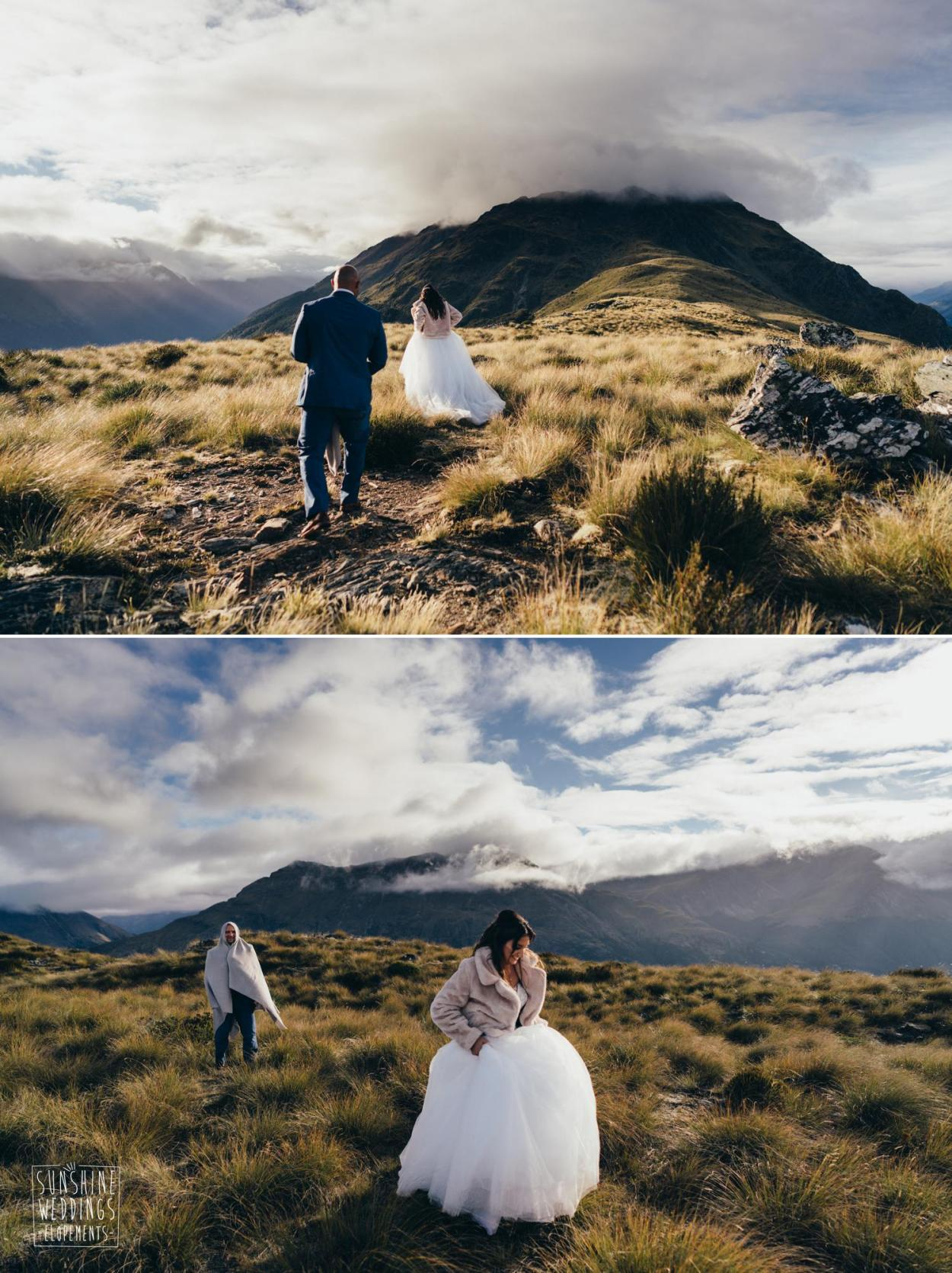 Lower Humboldts mountain wedding