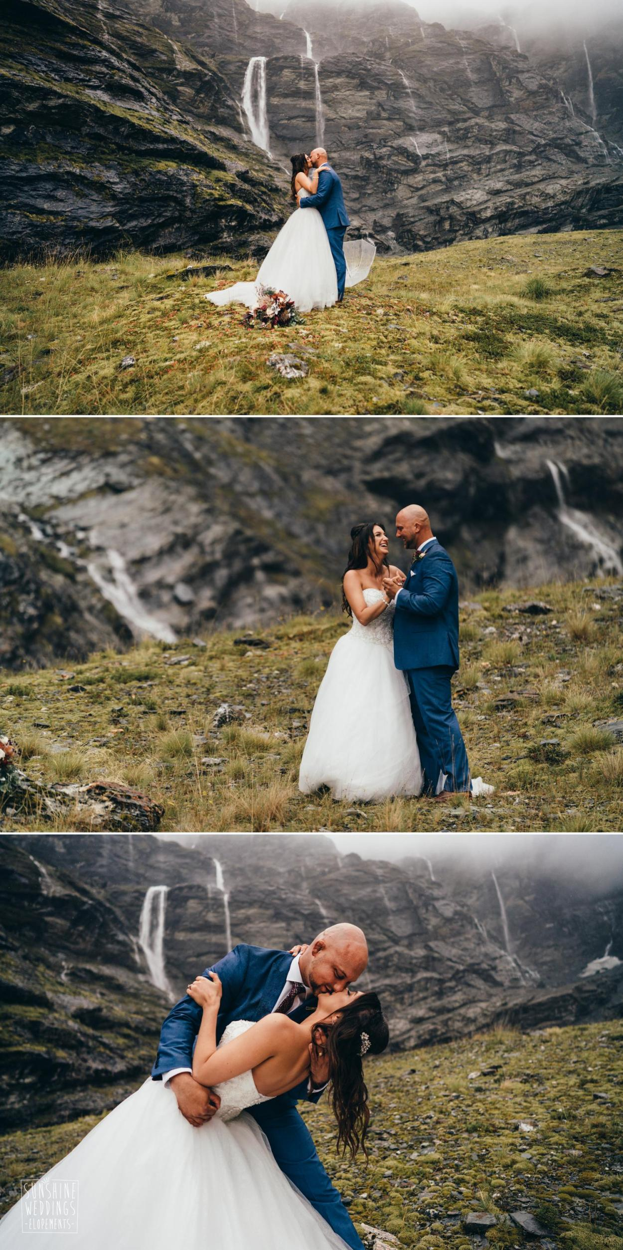 Elopement Earnslaw Burn Queenstown