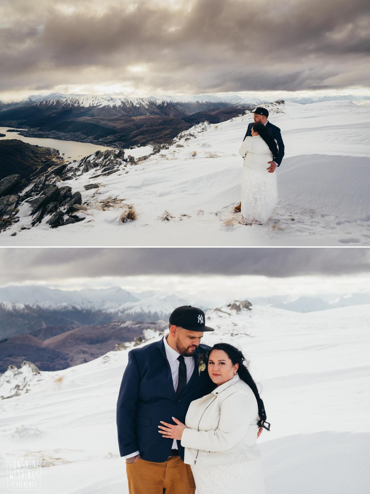 NZ winter wedding