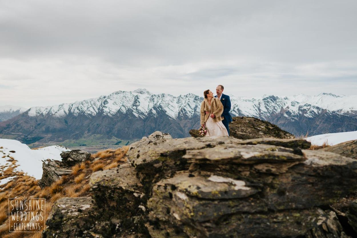 Mountain wedding New Zealand