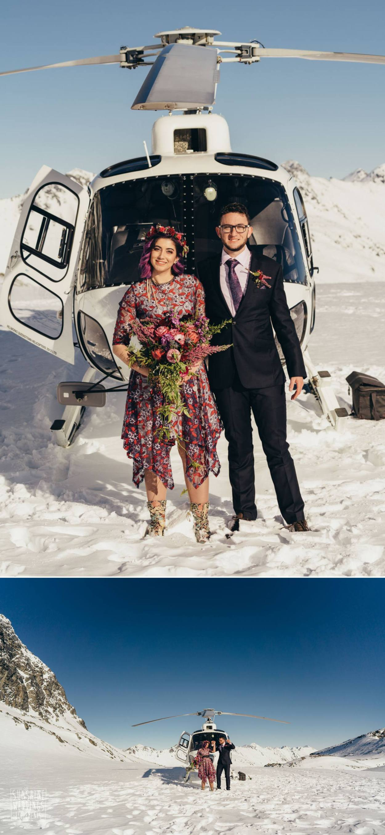 Helicopter wedding packages
