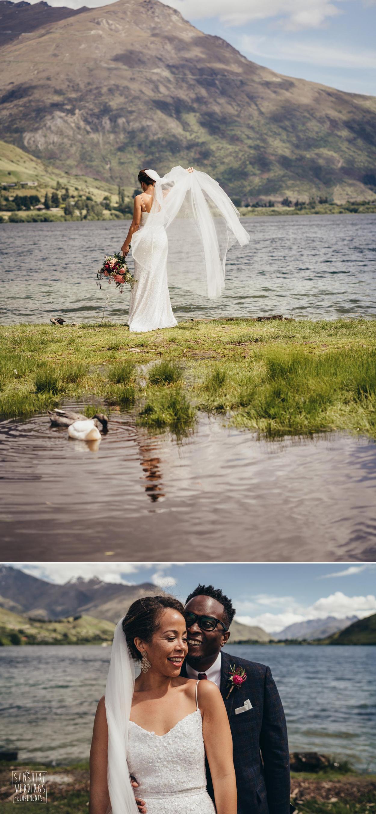 Lake Hayes wedding photography