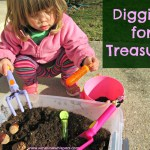 Digging for Treasure Activities for Toddlers