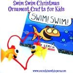 Swim Swim Christmas Ornament